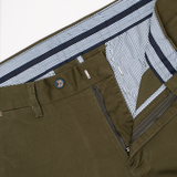 Marusho Washed Military Green Chino