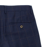 Tomoyoshi Delft Blue Suit Pants
