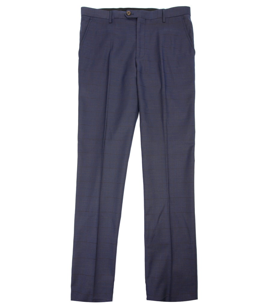 Kenji Two Tone Plaid Suit Pants