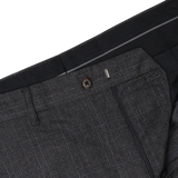 Sanzai Grey Glen Plaid Suit Pants
