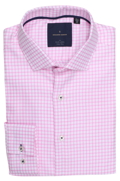 Misura Easy Iron Pink Check
