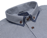 Tetsu Double Collar Gingham
