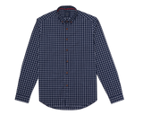 Nagaba Navy Windowpane