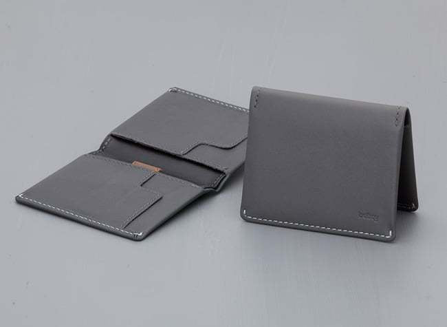 Slim Sleeve Wallet -Slate