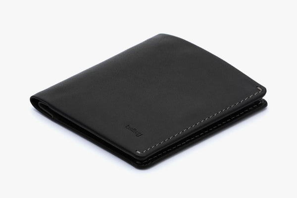 Note Sleeve Wallet - Black - RFID