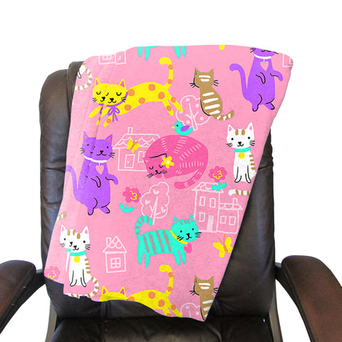 Kitty Party Blanket - Single Sided