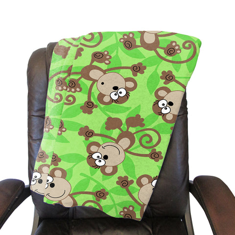 Monkey Bussiness Blanket - Single Sided