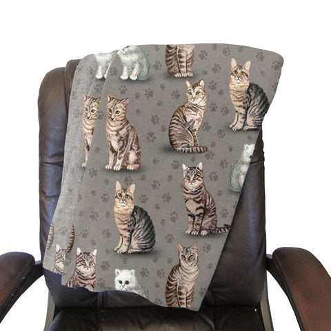 Purrfect Kitties Blanket - Single Sided