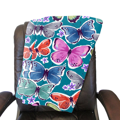 Wild Butterflies  Blanket - Double Sided
