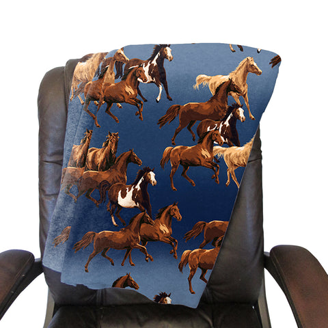 Wild Horse Blanket - Single Sided