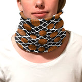Black Basketball Youth and Adult Neck Warmer