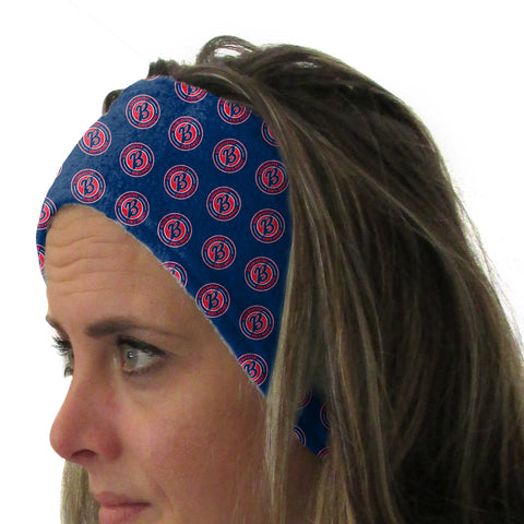 Bloomington Girls Hockey Youth and Adult Head Band