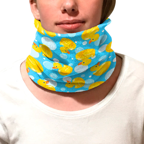 Bubble Ducks Youth and Adult Neck Warmer