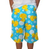 Bubble Ducks Adult Knee Length Short