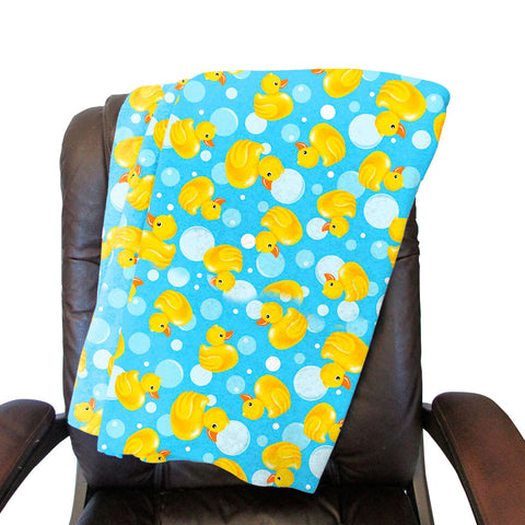 Bubble Ducks Blanket - Single Sided