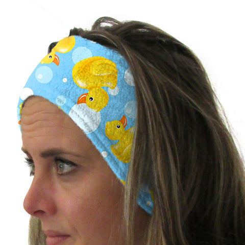 Bubble Ducks Youth and Adult Head Band