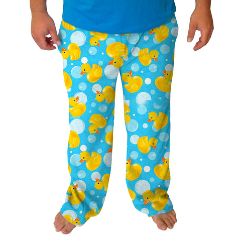 Bubble Ducks Mens Adult Pant