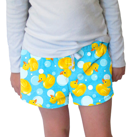Bubble Ducks Womens Short Short