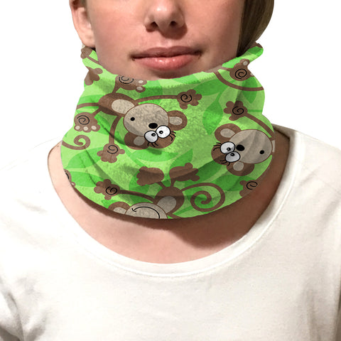Monkey Business Youth and Adult Neck Warmer