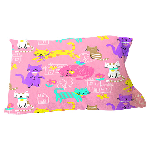 Kitty Party Pillow Case