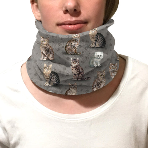 Purrfect Kitties Youth and Adult Neck Warmer