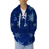 December Blizzard Youth Hooded Top
