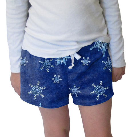 December Blizzard Womens Short Short