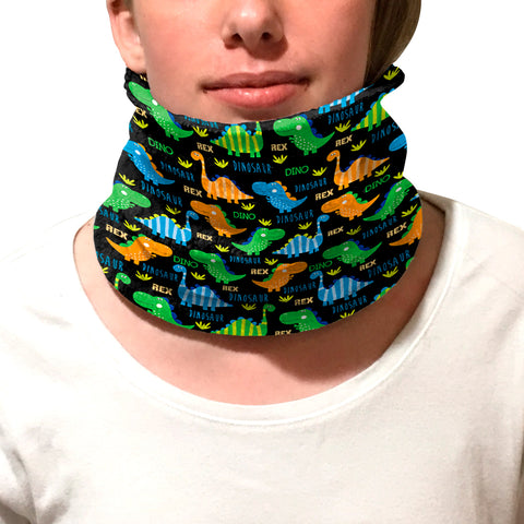 Dinosaur Fun Youth and Adult Neck Warmer