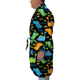 Dinosaur Fun Youth and Adult Robe