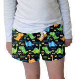 Dinosaur Fun Womens Short Short