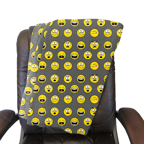 Emoji Emoji Blanket - Double Sided