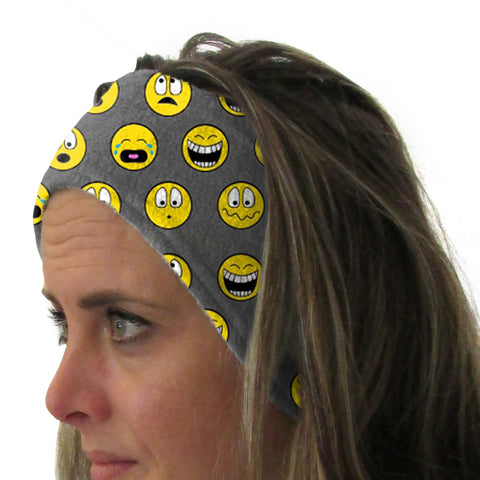 Emoji Emoji Youth and Adult Head Band