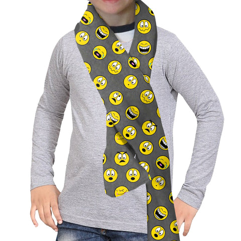 Emoji Emoji Scarf - Double Sided