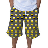 Emoji Emoji Youth Knee Length Short