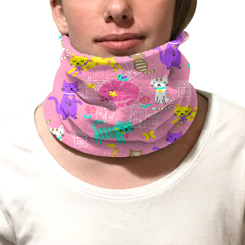 Kitty Party Youth and Adult Neck Warmer