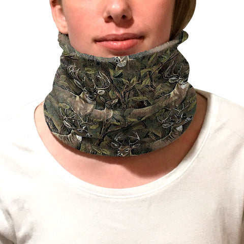 Forest Deer Youth and Adult Neck Warmer