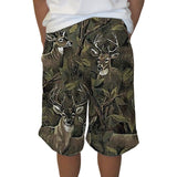 Forest Deer Adult Knee Length Short