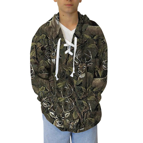 Youth Hooded Top