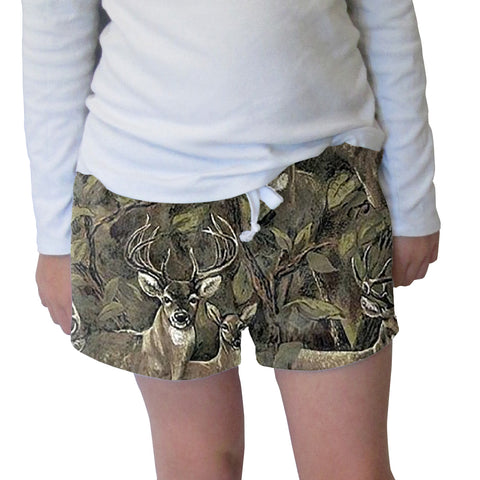 Forest Deer Womens Short Short