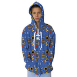 Friendly Pups Youth Hooded Top