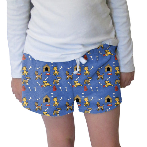 Friendly Pups Womens Short Short