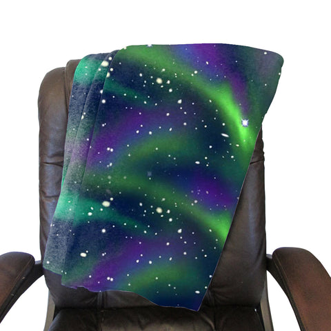 Great Northern Lights Blanket - Double Sided