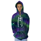 Great Northern Lights Adult Hooded Top
