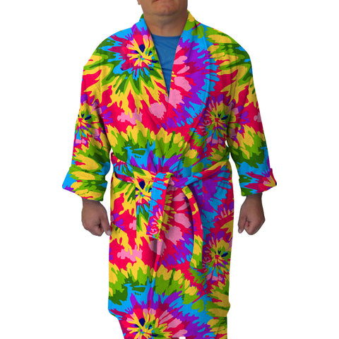 Groovy Tye Dye Youth and Adult Robe