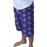 Hat Trick Hockey Blue Adult Knee Length Short
