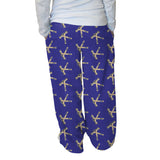 Hat Trick Hockey Blue Womens Adult Pant