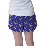Hat Trick Hockey Blue Womens Short Short