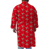 Hat Trick Hockey Red Youth and Adult Robe