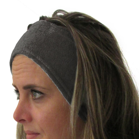 Heather Grey Solid Youth and Adult Head Band