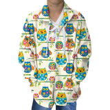 Hooting Owls Adult Collared Top